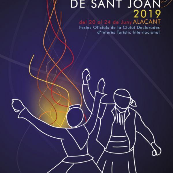 Fogueres de Sant Joan en Alicante 2019