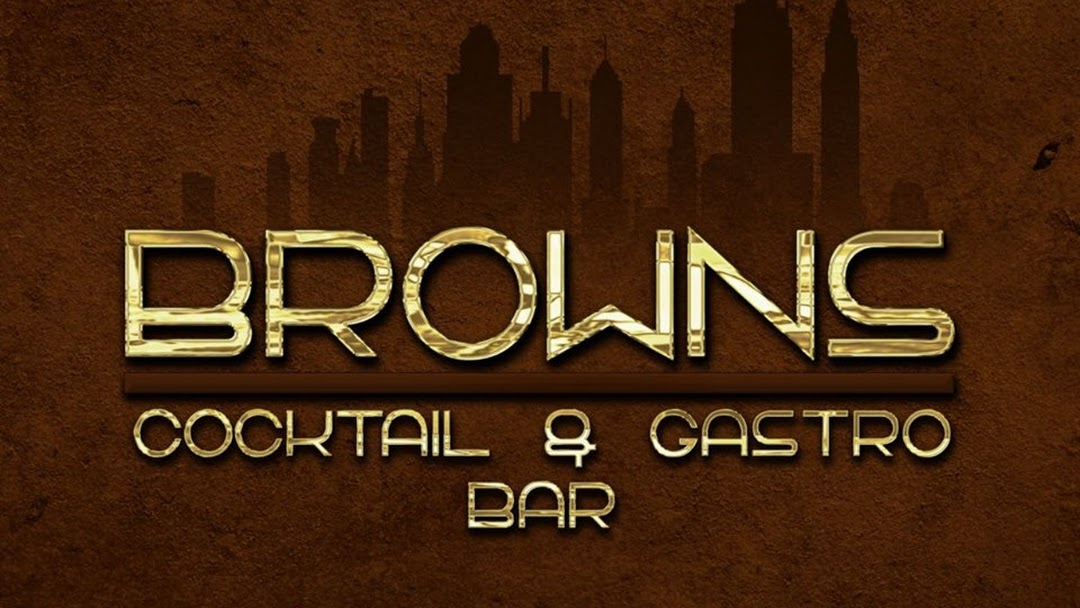 Logo Browns Cocktail And Gastro Bar
