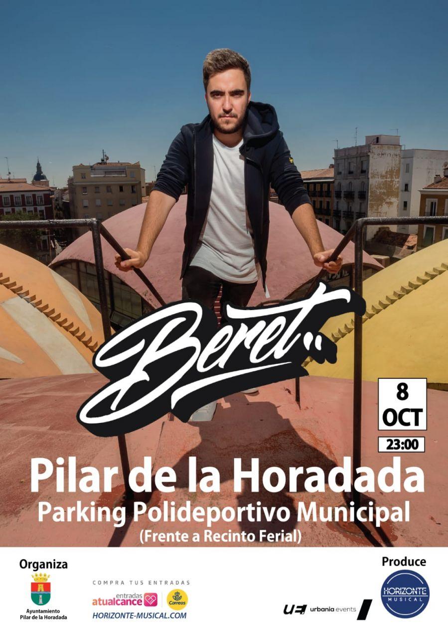 concierto BERET 8 DE OCTUBRE 2019 PILAR DE LA HORADADA