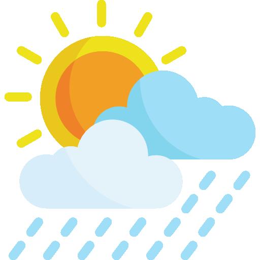 08/09 Intervalos nubosos con lluvia escasa